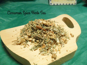 Cinnamon Spice Loose Herbal Tea,  Cinnamon, chamomile, lemon balm, caffeine free