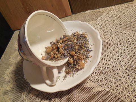 Dreamtime Loose Herbal Tea, lavender, chamomile, no caffeine