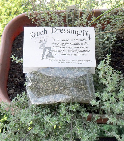 Ranch Dressing Dip Mix, Hand-blended Dry Herb Cooking Mix, Snack recipe
