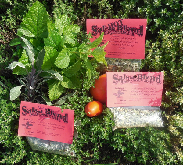 Salsa Seasoning Mixes, Hand-blended salt-free cooking Dry Herb Mix