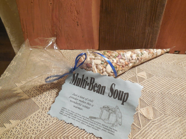 Multi Bean Soup Mix | Gourmet dry soup mix | vegan | organic | Backyard Patch Herbs