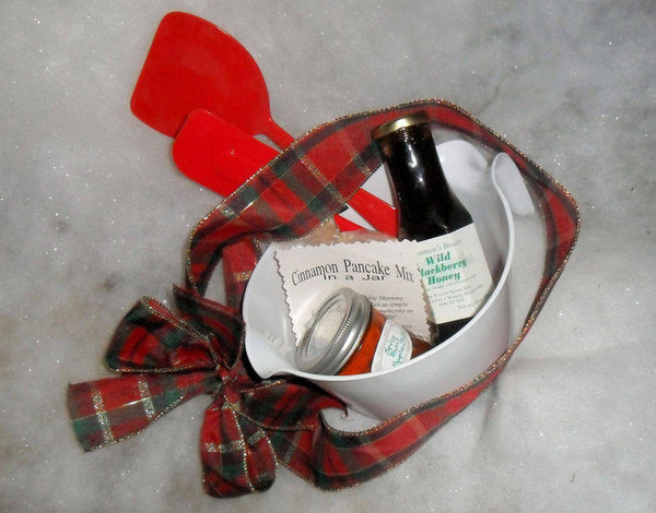 Batter Bowl Cinnamon Pancake Breakfast Basket Gift