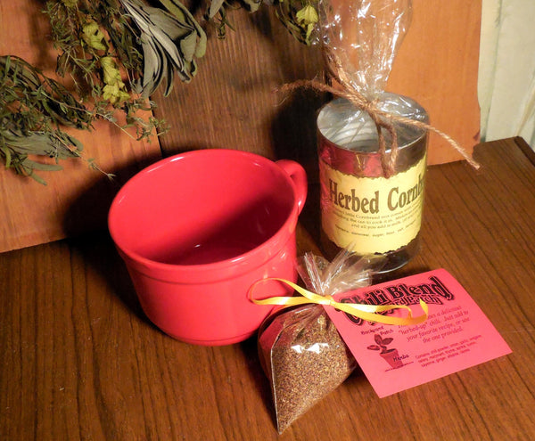 Chili and Cornbread Combo Gift, Chili Seasoning Blend, Cornbread in a Can