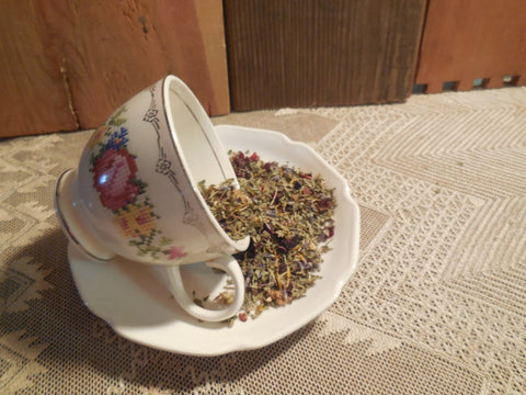 Garden Walk Herb Tea Blends, various recipes