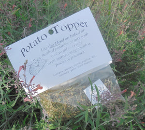Roasted Potato Mix, Hand-blended salt free dry HERB COOKING MIX, Potato Topper, gluten free