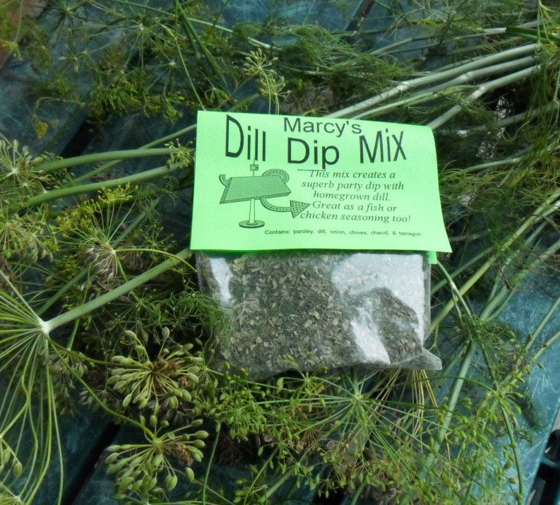 Dill Dip Mix Herb Blend for Cooking, Hand-blended salt-free dry HERB MIX