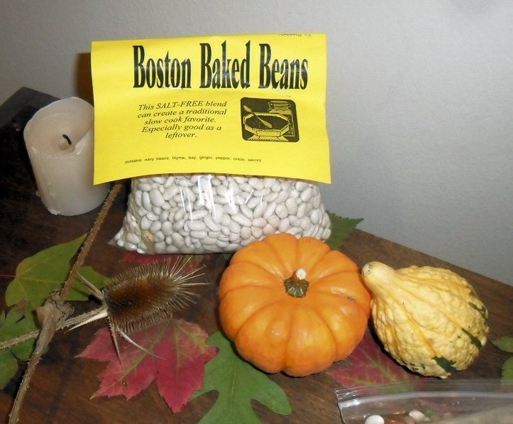 Boston Baked Beans Dry Cooking Mix, navy beans, seasonings,