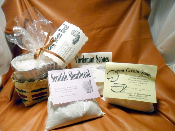 Set of 3 Dry Herb Flavored Shortbread Mixes
