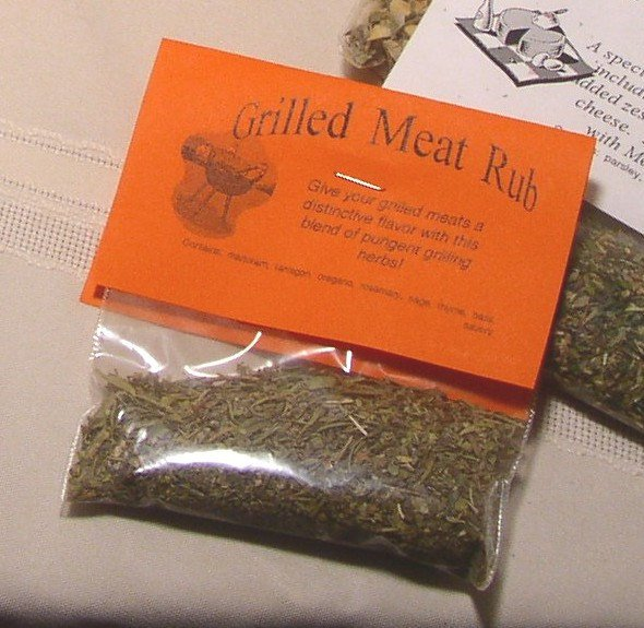Grilled Meat Rub Herb Seasoning Mix Herbal Blend