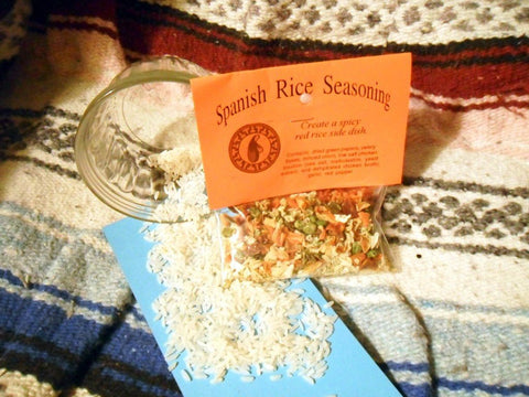 Spanish Rice Seasoning Mix, Hand-blended salt-free dry Herb Cooking Mix
