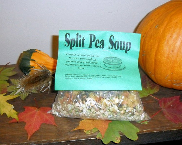 Split Pea Soup Mix | Gourmet dry soup mix | vegan | organic | Backyard Patch Herbs