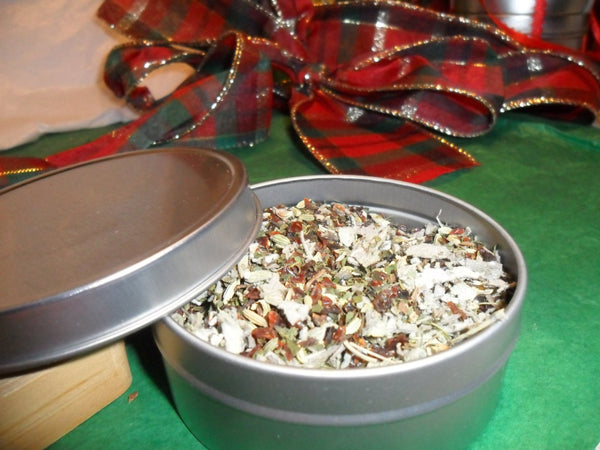 Winter Remedy Loose Herbal Tea, lavender, sage, rosehips, fennel, caffeine free