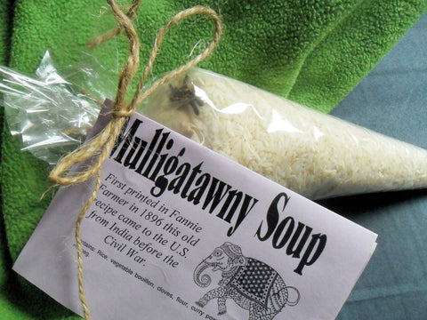 Mulligatawny Soup Mix, Gourmet Soup at home, dry mix with rice