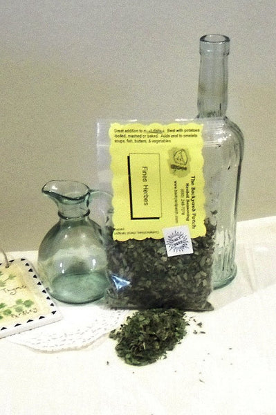 Fine Herbs, Salt Free Herb Seasoning Blend, no salt, cooking, chives, chervil, tarragon, parsley