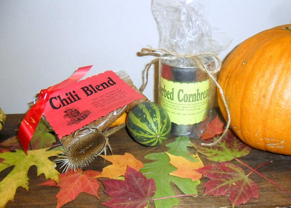 Chili Herb Blend, Gourmet dry soup mix, can be vegan or vegetarian, organic