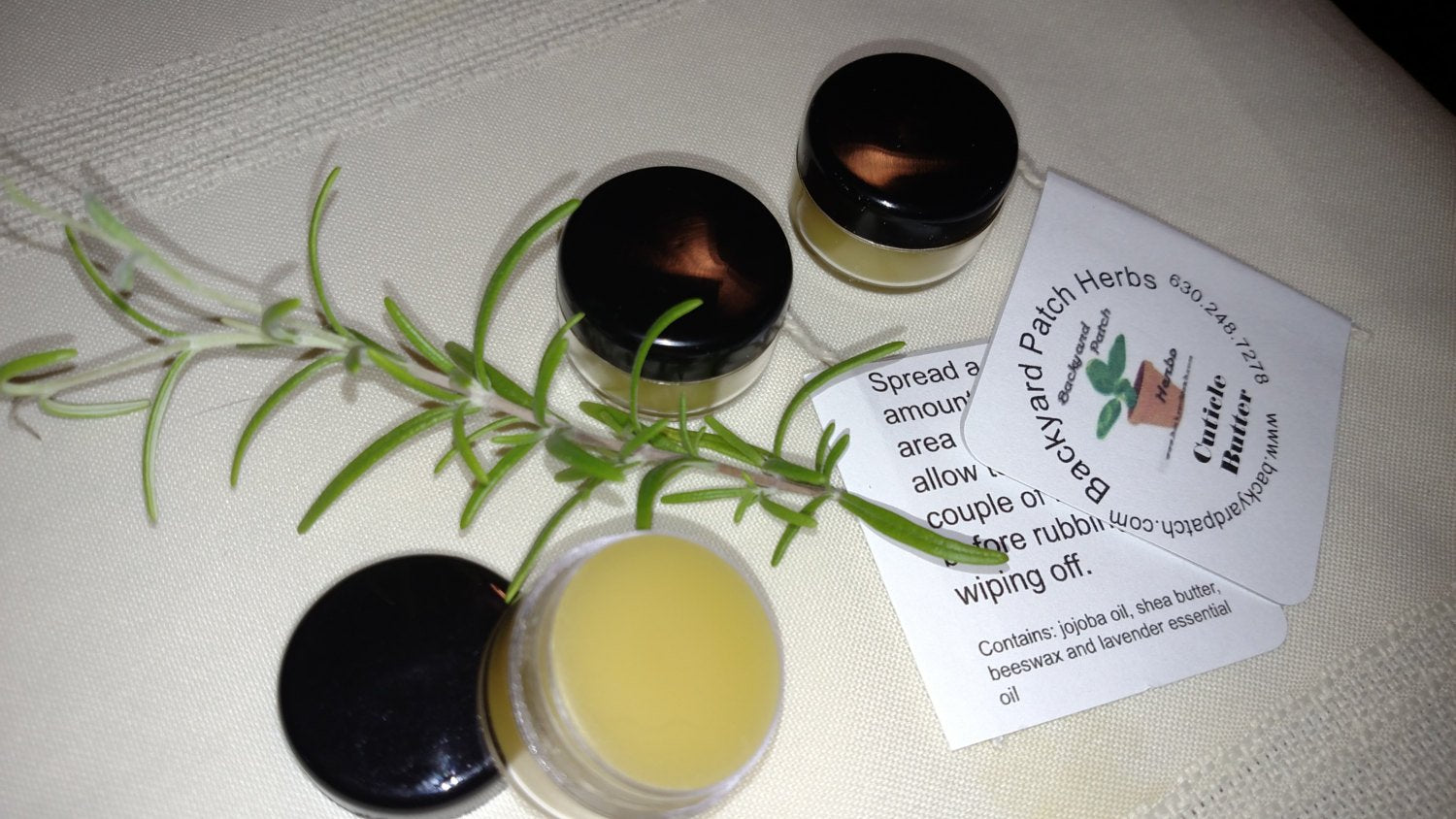 Cuticle Butter, shea butter, beeswax, natural, eco, healthy, no preservatives