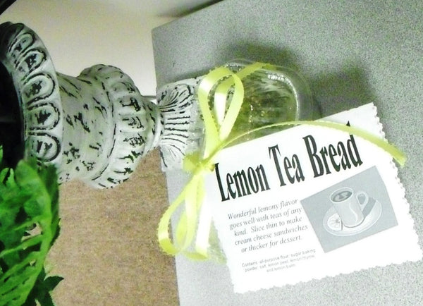 Lemon Tea Herb Bread Mix, dry mix, perfect for afternoon tea