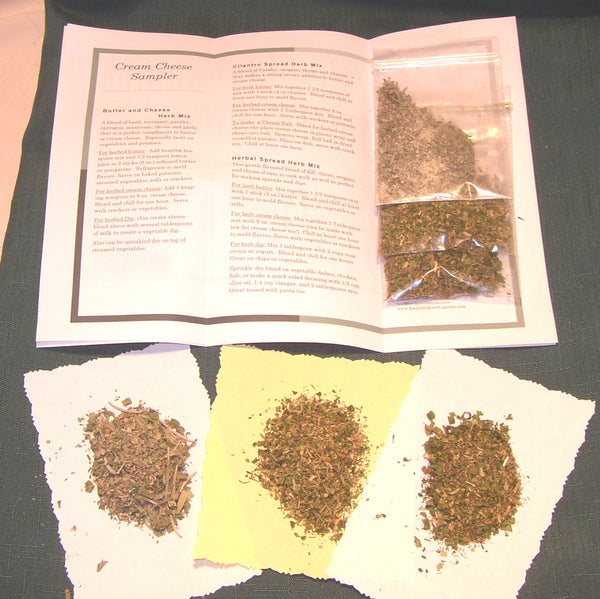 Sampler Set of Herb Mixes and Teas - you choose from over 16 different combinations