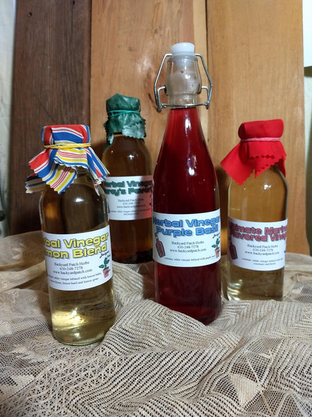 Thyme Gourmet Herbal Vinegar, cooking and cleaning infused vinegar
