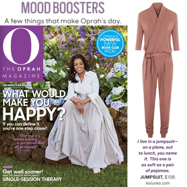 O The Oprah Magazine | Les Lunes | Paul Jumopsuit