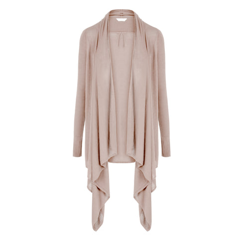 Les Lunes Wrap Knitted Cardigan Light Taupe