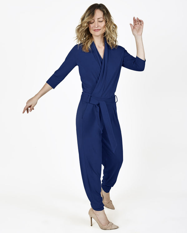 The Paul Jumpsuit (Only Navy Blue XS, SM, Med, Large Avail)