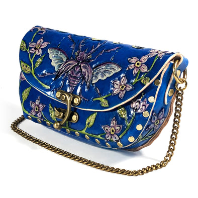 Stag Beetle – Chained Clutch – Blue