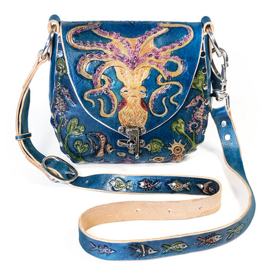 Octopus Garden Empress Hobo – Blue