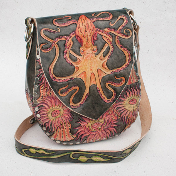 Octopus Garden Mater Hobo Front Eulalee Leather