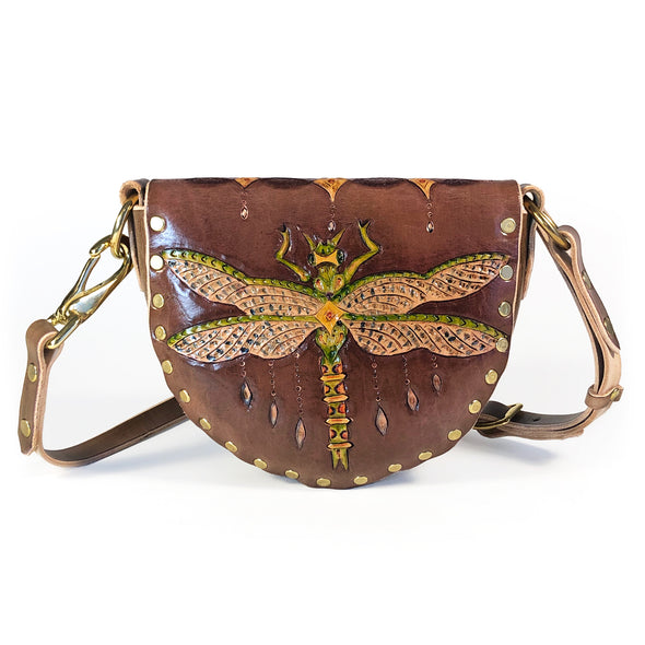 Dragonfly Mini Hobo — Brown