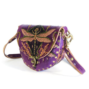 Dragonfly Mini Hobo – Purple