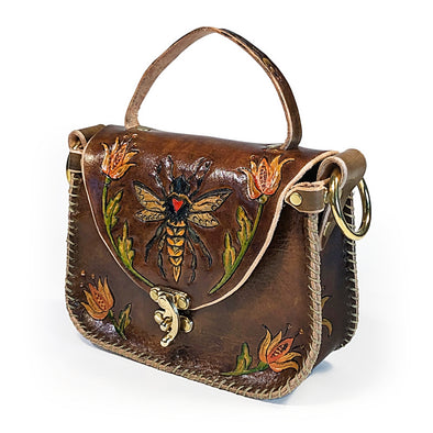 Bee Tote – Brown