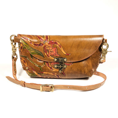 Spider Orchid – Clutch – Brown