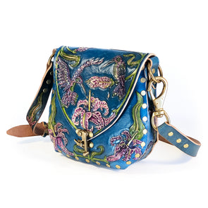 Hummingbird Empress Hobo – Blue