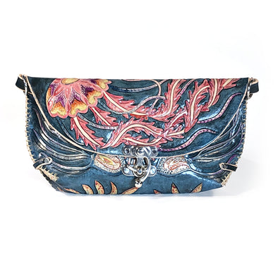 Jellyfish Clutch – Blue