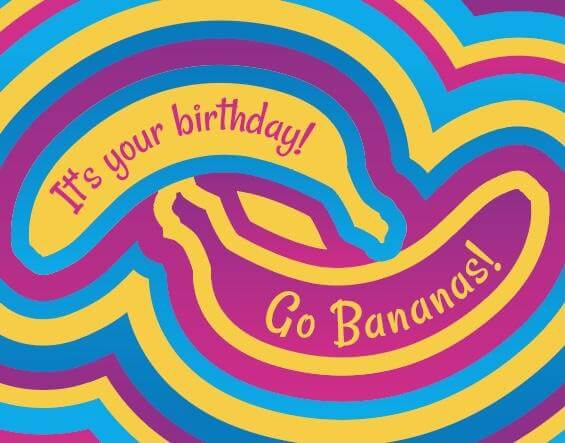 Birthday Box & Card - Lea Lana's Bananas