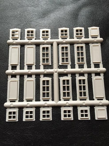 Doors and Windows Sprue