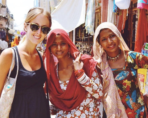 My heart's in India