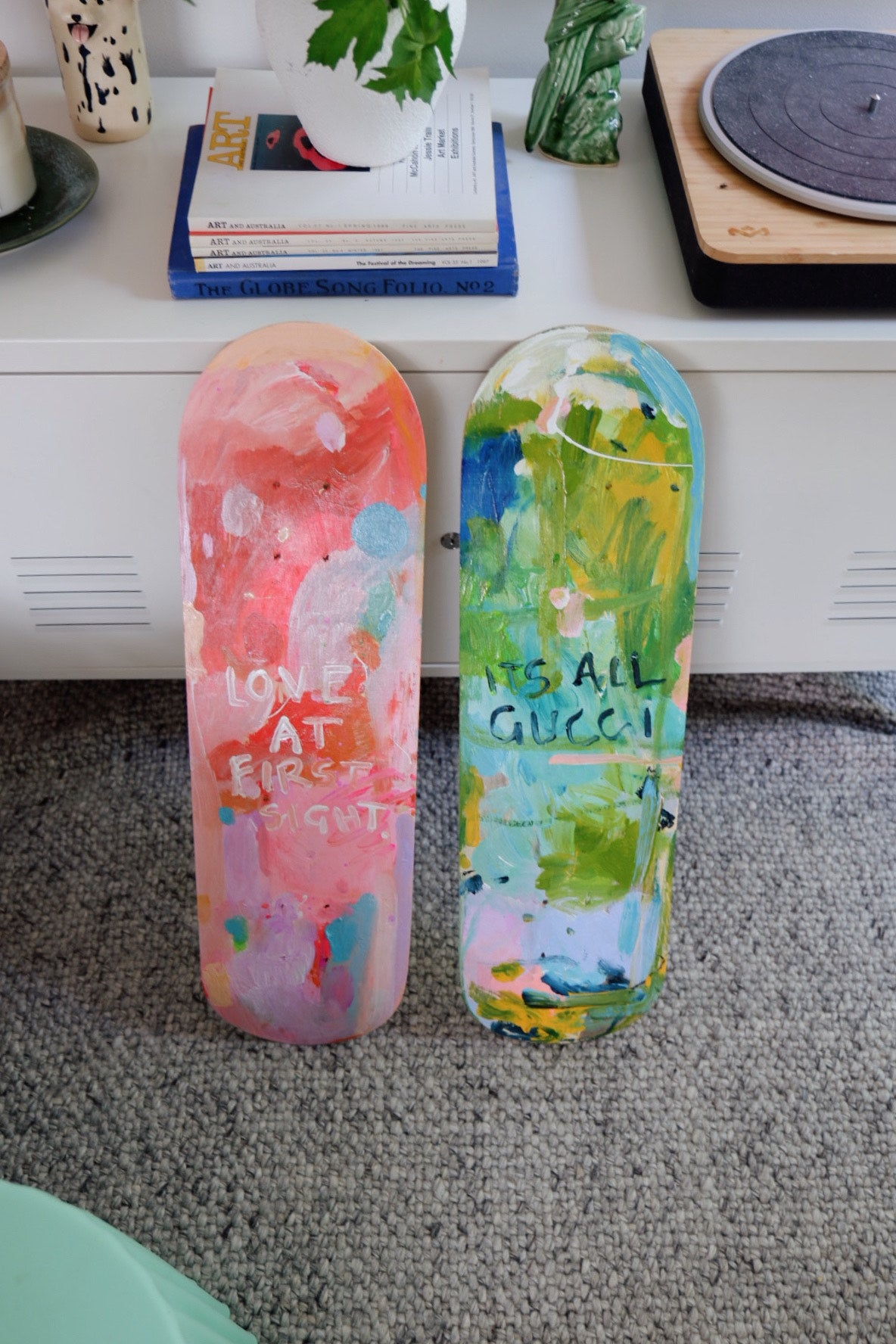 Kate Eliza skateboards