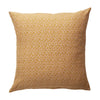 Ajo Linen Euro Pillowcase in honey and animal print