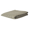 Ajo Linen Fitted Sheet in a Saltbush leopard print design