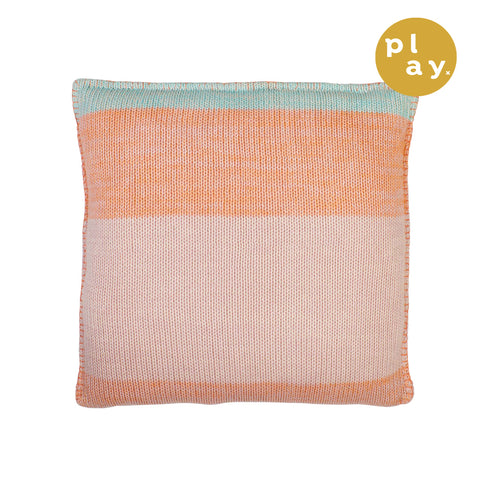 Agnes Knitted Cushion