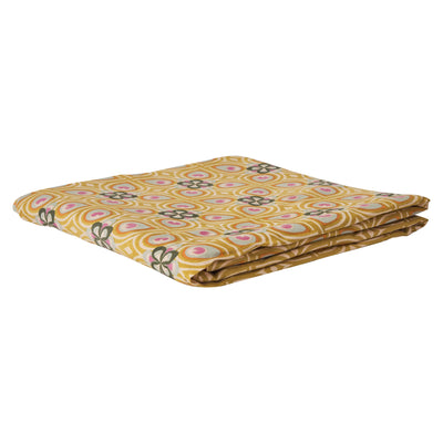 Delvene Flat Sheet in multi-coloured geometric design