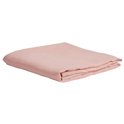 Dusk French Flax Linen Fitted Sheet