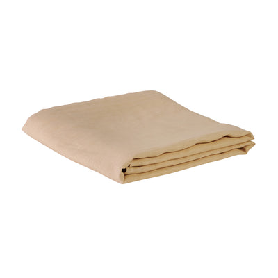 European flax linen fitted sheet parfait