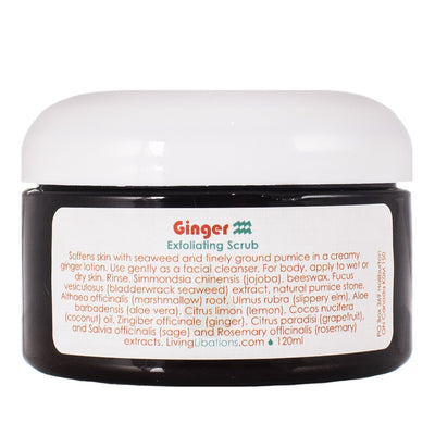 Living Libations Ginger Body Scrub