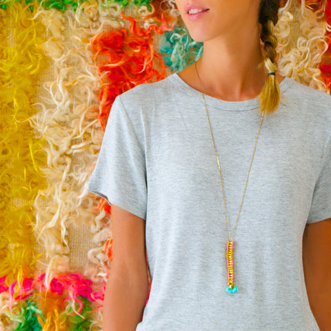 Cali Tassle Necklace
