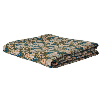 Loveat Linen Fitted Sheet in a multi-coloured vintage floral design