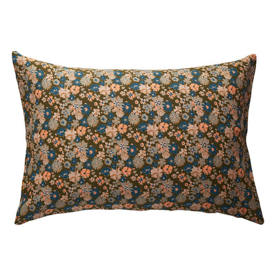 Loveat Linen Pillowcase Set in multi-coloured vintage florals