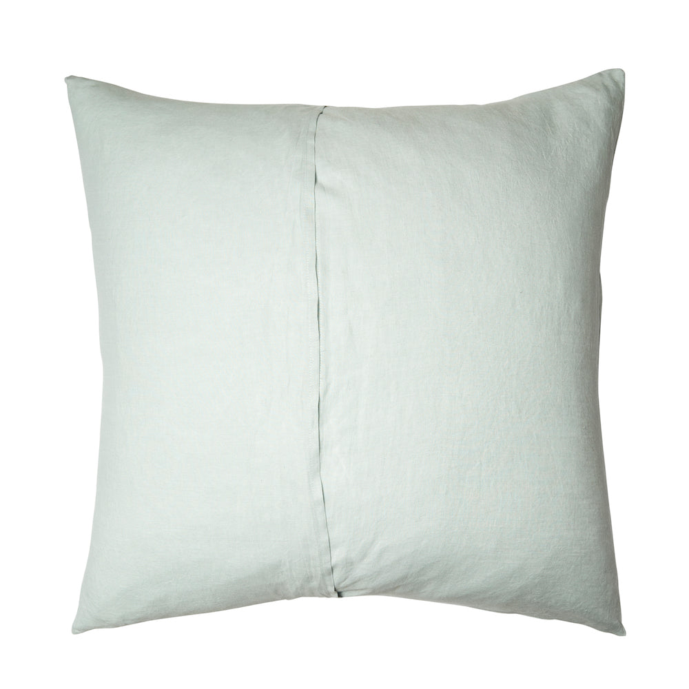 Linen Euro Pillowcase Set Moonlight